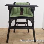 赤ちゃんの食事には専用の椅子を!スタイリッシュなカトージのベビーチェア