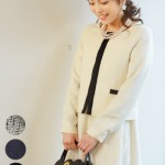 お宮参り・入園・卒園式にぴったりの新作マタニティ&授乳服ツイードスーツ